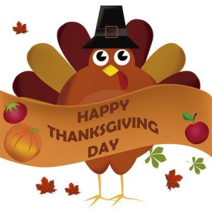 Happy Thanksgiving - no Small Business Saturday for us!