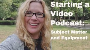 starting a video podcast
