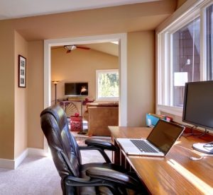 Small Businesses Should You Rent Office Space Or Work From Home Business In Blue Jeans