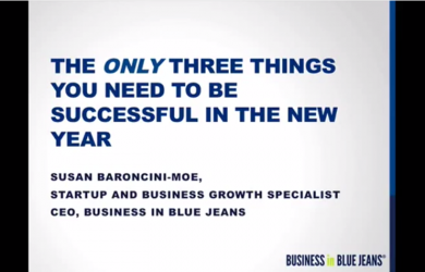 The Only Three Things You Need To Be Successful In The New Year