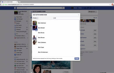 Video: Creating lists in facebook